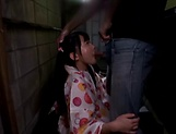 Ooshima Mio enjoys a creamy shower picture 12
