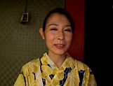 Hottie Imai Mayumi jerks of multiple schlongs picture 1