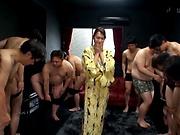Hottie Imai Mayumi jerks of multiple schlongs