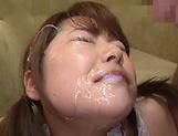 Miyazawa Hikaur insane cumshot video with multiple partners