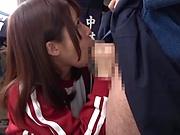 Yui Makina got a facial she really liked