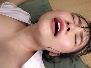 Lusty Japanese girl Kawai Asuna fucked by a group of dudes