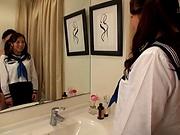 Ichijou Kimika ,flaunts her juicy big tits