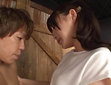 Hakii Haruka ,gets a deserving cum on face picture 14