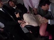 Cute lovely beauty Shibuya Kaho loves being devoured