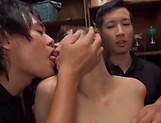 Hikaru Kakitani gives a skilled blowjob picture 14