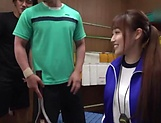 Arihara Ayumi got gangbanged and enjoyed