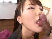 Igarashi Seiran likes cum on face