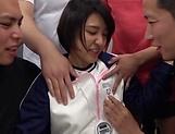 Hottie Hinata Mio enjoys a sensual fingering