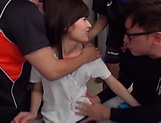 Mizuho Uehara knows how to please several huge dicks