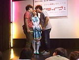 Kinky Gang bang session involving hot Ai Uehara picture 11