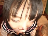 Beautiful Asian hottie Kaho Shibuya in kinky sexual fun picture 14