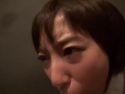 Amateur Asian beauty Nagisa Sawamura gives a steamy blowjob