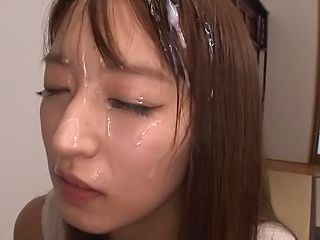Kishida Ayumi ,gags on an ubending dick