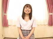 Exclusive Miyazawa Chiharu insane cock sucking and facial