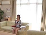 Cute mature lady Shihori Endou loves getting creamed picture 13