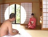 Saki Hatsumi handles cock in superb POV manners