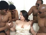 Hardcore milf has her wet holes nailed hard picture 14