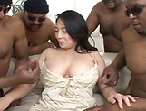Hardcore milf has her wet holes nailed hard picture 15