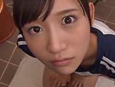 Hoshina Ai is giving an amazing blowjob