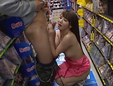 Sexy Tomoda Ayakai chokes and gags on dick picture 108