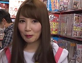 Sexy Tomoda Ayakai chokes and gags on dick picture 37