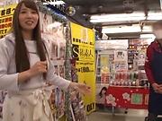 Sexy Tomoda Ayakai chokes and gags on dick