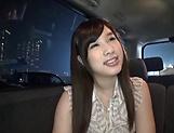 Petite sweetie Sakura Chinami swallows a huge stiff wang