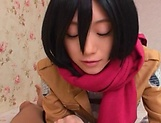 Mao Sena, gives a sensual unforgettable blowjob picture 14