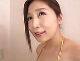Sasaki Aki offers a wild sensual blowjob