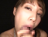 Exclusive amateur POV blowjob by Suzumura Airi picture 13