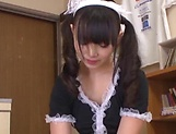 Ayanami Yume gets naughty pleasuring her boss