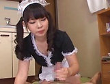 Ayanami Yume gets naughty pleasuring her boss picture 13