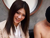 Hot milf, Torii Miki is into facesitting picture 1