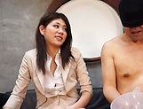 Hot milf, Torii Miki is into facesitting picture 9