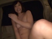 Shameless amateur girl from Japan deepthroats her mew lover