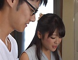 Big tits Japanese amateur Kawaguchi Hasumi gets boobs fucked