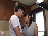 Big tits Japanese amateur Kawaguchi Hasumi gets boobs fucked picture 13