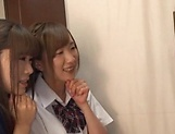 Beautiful teen Saitou Miyu in raunchy blowjob scene picture 13
