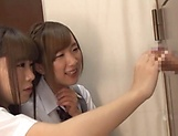 Beautiful teen Saitou Miyu in raunchy blowjob scene picture 14