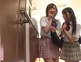 Beautiful teen Saitou Miyu in raunchy blowjob scene picture 3