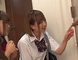Beautiful teen Saitou Miyu in raunchy blowjob scene picture 7