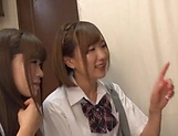 Beautiful teen Saitou Miyu in raunchy blowjob scene picture 8