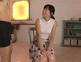 Facial endings for Ayaka Yamada filthy cock sucking show picture 1