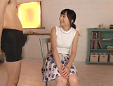 Facial endings for Ayaka Yamada filthy cock sucking show picture 2