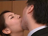 Hagane Koino loves getting jizzed up well picture 12