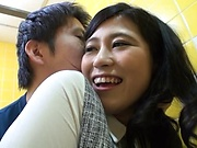 Japanese cutie pleasured with a pussy licking