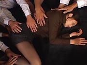Murakami Risa, lets out erotic moans