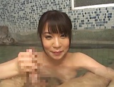 Matsushita Miori shows good cock sucking skills in POV  picture 13