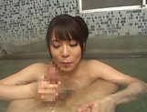 Matsushita Miori shows good cock sucking skills in POV